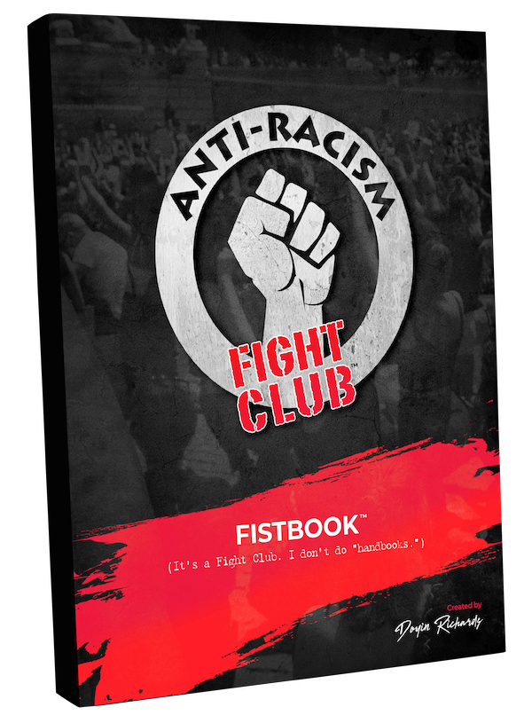 Anti-Racism Fight Club Fistbook Cover